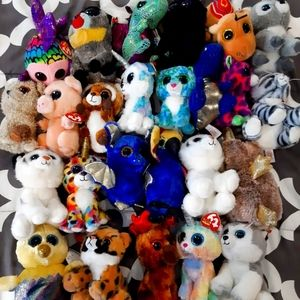 Huge Collection of over 50 Beanie Boos
